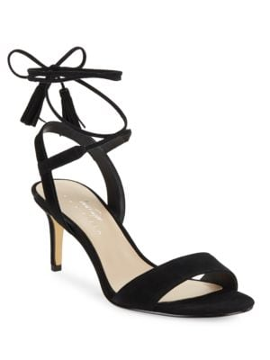 Giovanna Suede Sandals by 424 Fifth