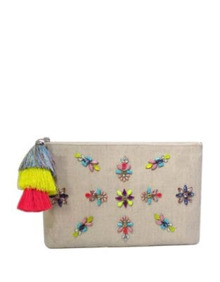 Belle Jewelled Clutch