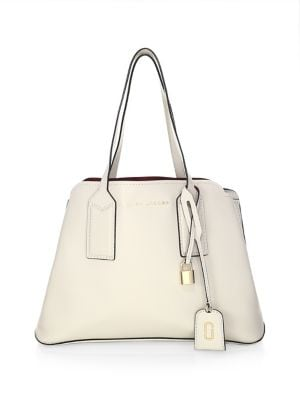 The Editor Leather Tote 500088013158