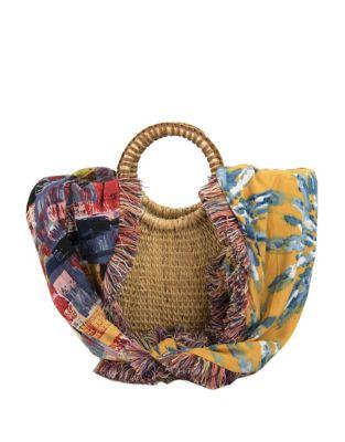 Adira Straw Crossbody Bag 500088013274