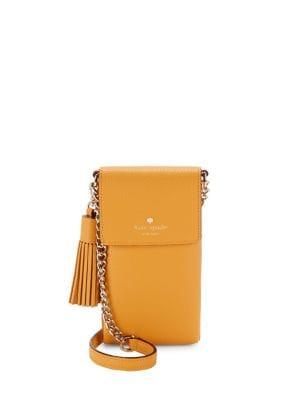 Tassel Leather Crossbody Bag 500088018891