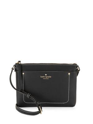Logo Leather Crossbody Bag 500088023215