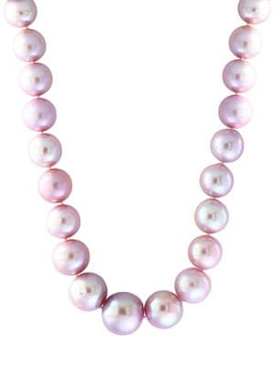 10-14MM Freshwater Pearl and Sterling Silver Necklace