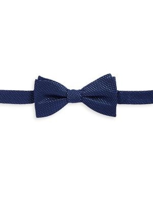 Square-Neat Silk Bow...