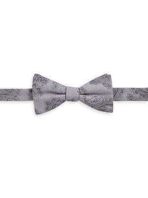 Paisley Silk Bow Tie...