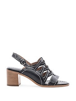 2d74a5f9af6c Blaine Strappy Leather Sandals BLACK. QUICK VIEW. Product image