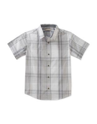 Boy's Conversion Plaid Shirt 500088035058