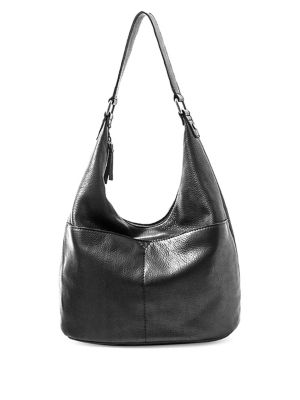 Carrie Leather Hobo Bag...