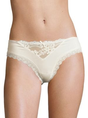 Image of Willow Lace-Trimmed Hipster