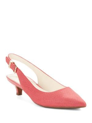 Expert Kitten Heel Slingback Pumps by Anne Klein