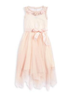 82d5d5855fb6 Zunie - Girl's Beaded Sleeveless Dress - lordandtaylor.com