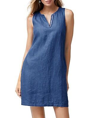 8d9df9fdb12 Tommy Bahama - Seaglass Linen Shift Dress - lordandtaylor.com