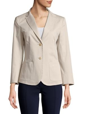 Weekend Max Mara LIVIGNO STRETCH COTTON BLAZER