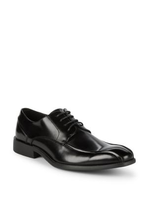 Patent Lace-Up Oxfords...