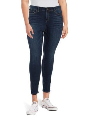 Plus Cropped Skinny Jeans 500088068137