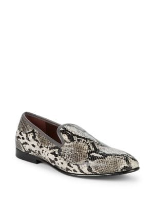 Enrico Leather Loafers...