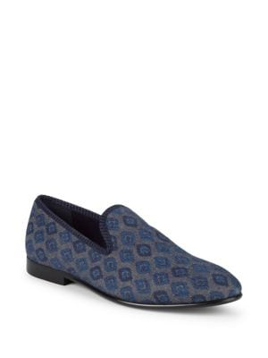 Enrico Printed Loafers...