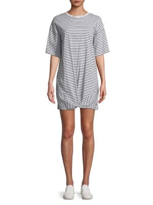 The Fifth Label STRIPED KNOTTED T-SHIRT DRESS