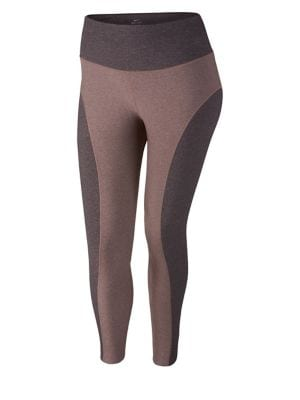 Colorblock Tights @...