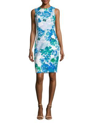 Floral Sheath Dress 500088076552