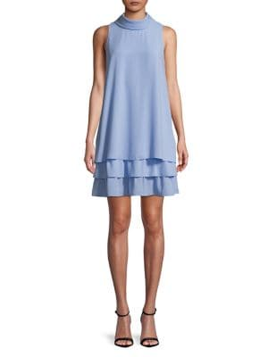 Tiered Ruffle A-Line Dress 500088081543