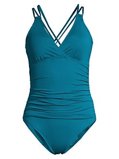 00e8a8e5023 Product image. QUICK VIEW. La Blanca. Island One-Piece Underwire Swimsuit
