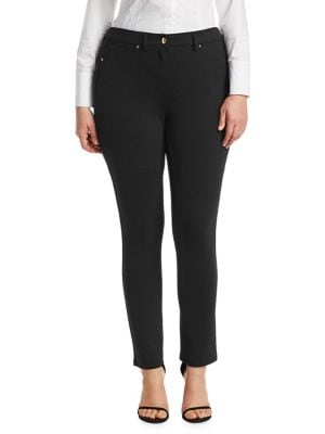 Image of Odalisca Compact Jersey Skinny Pants
