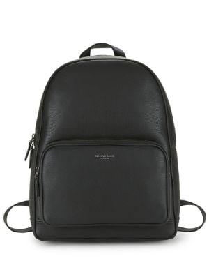 Medium Leather Backpack...