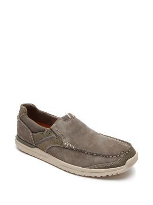 Langdon Leather Slip-On...
