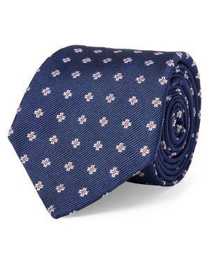 Cross Neat Silk Tie @...