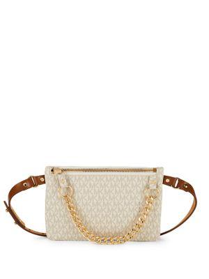 Chain Belt Bag @...