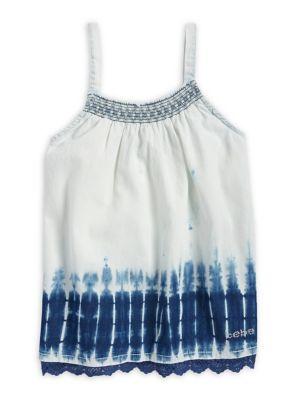 Girl's Tie Dye Denim...
