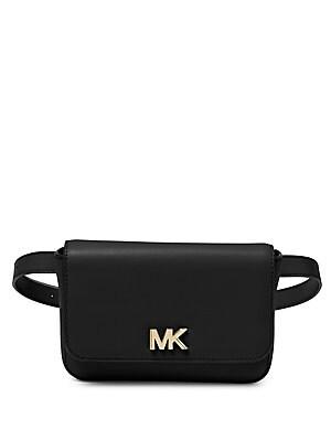 MICHAEL Michael Kors - Mott Leather Belt Bag - lordandtaylor.com 881259c2e7356