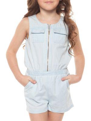 Little Girl's Zippered...