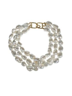 Image of 10-15MM Pearl Layered Necklace