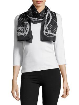 Graphic Silk Scarf 500088146502