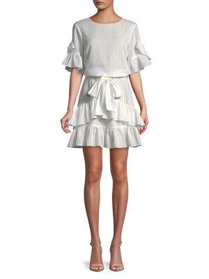 Tiered Ruffle Dress 500088159123
