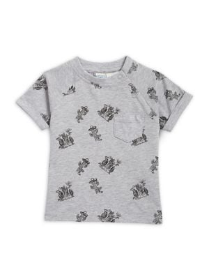 Baby Boy's Cotton Graphic...