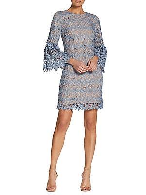 ae346efa8dd1 Dress The Population - Piper Crochet Lace Mini Dress - lordandtaylor.com