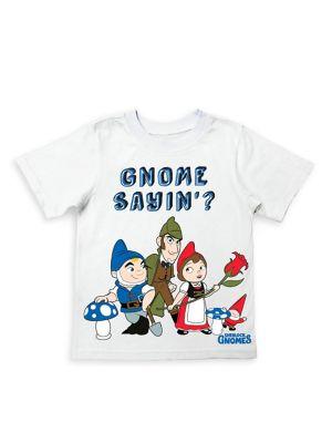 Little Boy's Gnome Sayin'...