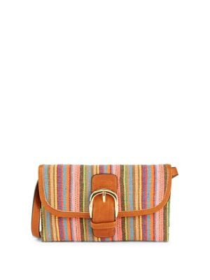 Candace Buckled Woven...