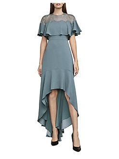 5ecc1fd40b62 QUICK VIEW. BCBGMAXAZRIA. Barbara High-Low Ruffle Gown