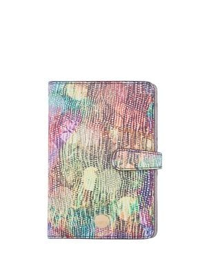 Dots RFID Kimmy Leather Passport Notebook Case 500088210883