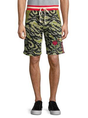 Printed Drawstring Shorts...