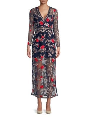 Embroidered Maxi Dress...
