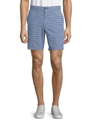 Striped Cotton Shorts...