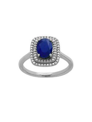 Diamond, Blue Sapphire...