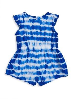 Baby Girl's Tie-Dye Ruffle...