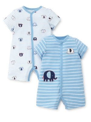 Baby Boy's Two-Pack Elephant...