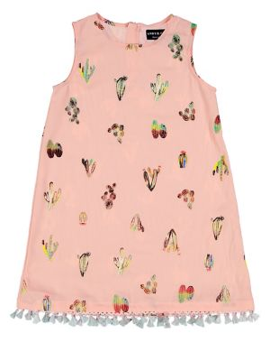 Little Girl's Cactus-Print...